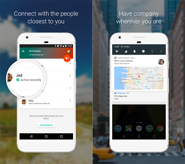 Google Launches Trusted Contacts App On Android