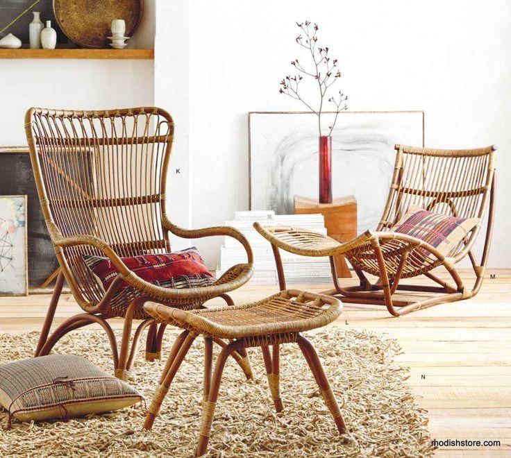 Roost Lars Rattan Collection. Bamboo FurnitureOutdoor ...