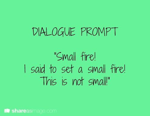 F: Fire – Prompt Friday