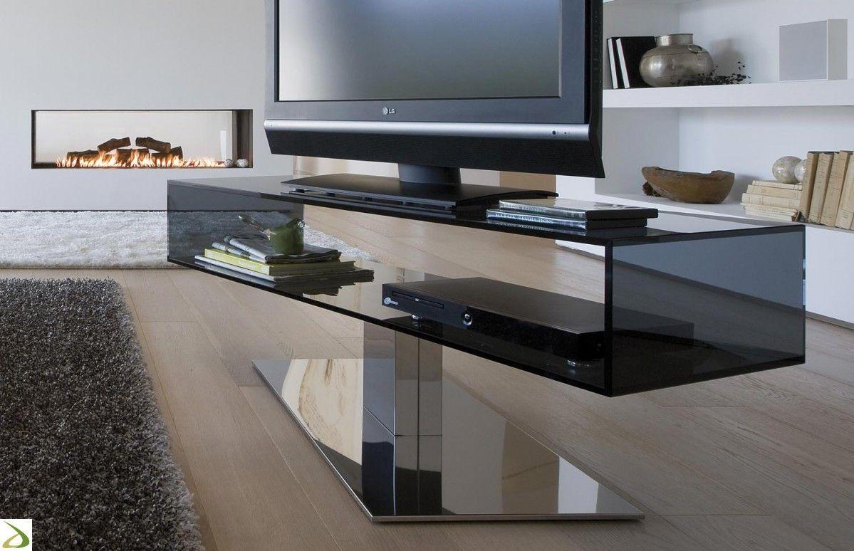 Porta Tv Lcd Vetro.Porta Tv Daniel Tv Soggiorno Design E Mobili Porta Tv