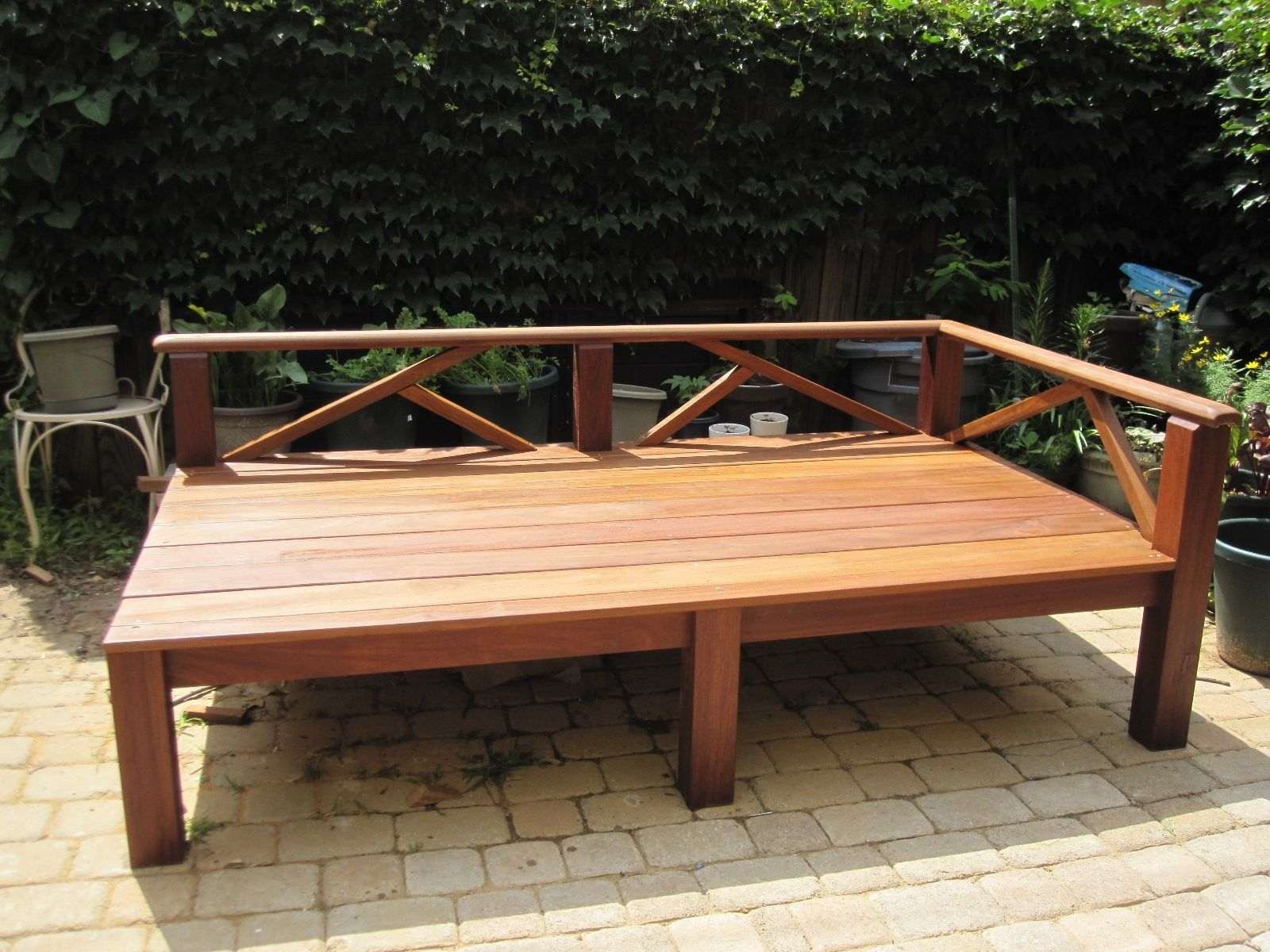 Outdoor Day Bed Outdoor Daybed Diy Modern Outdoor Patio