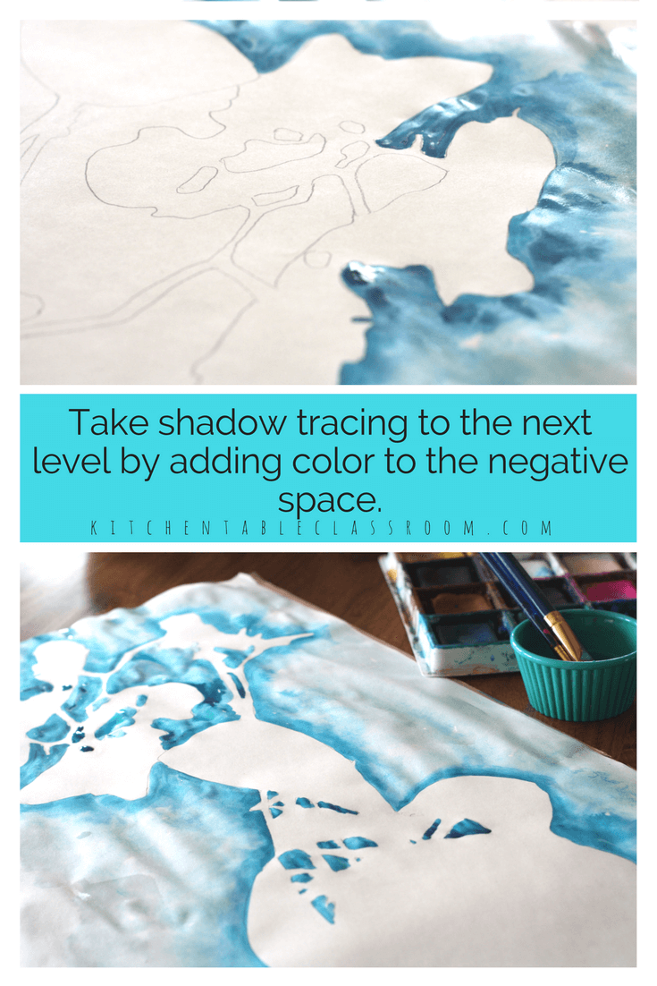 Shadow Drawing - An Experience in Positive and Negative Shapes ...