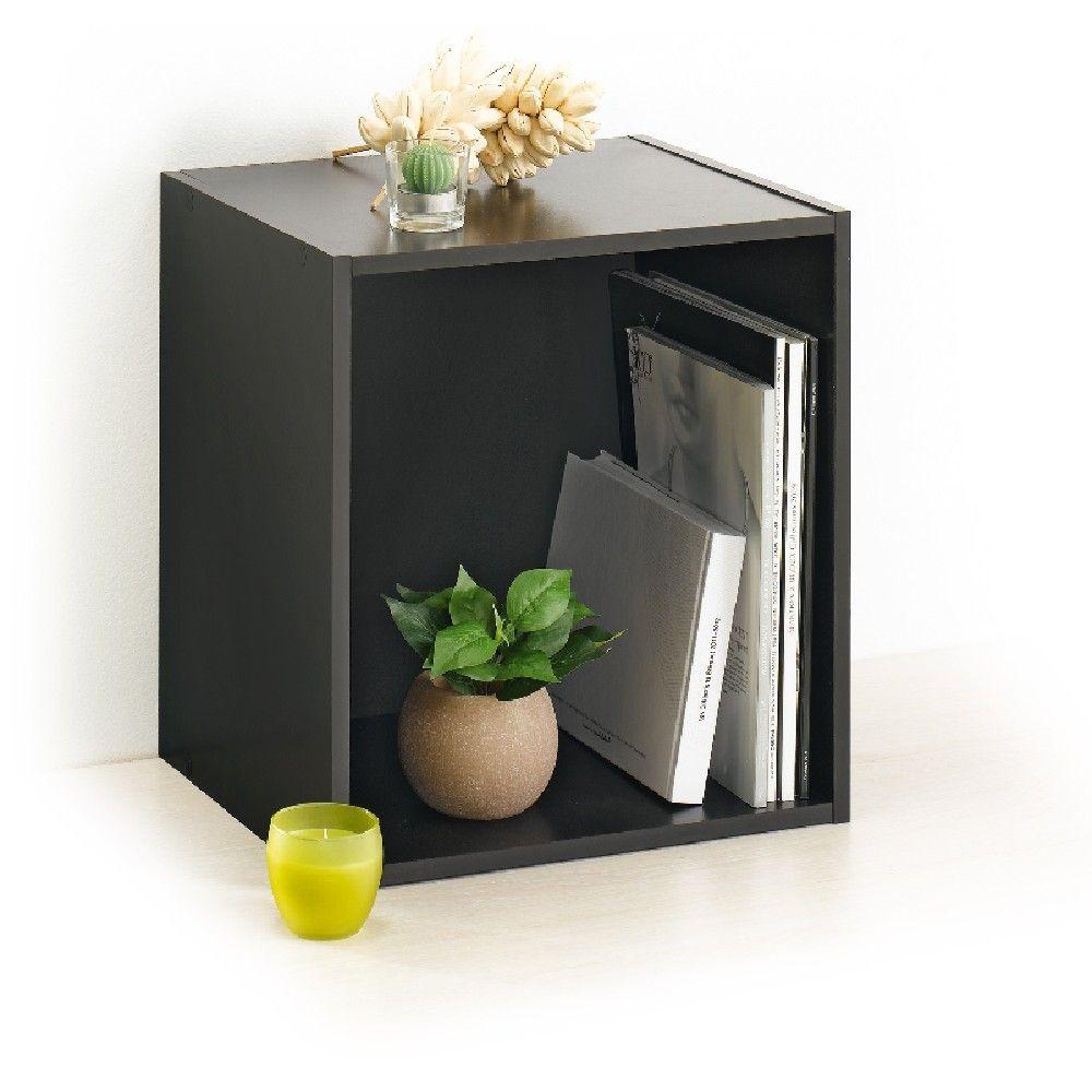Cube Deco Rangement Noir Meuble Gifi Deco Rangement Meuble Rangement