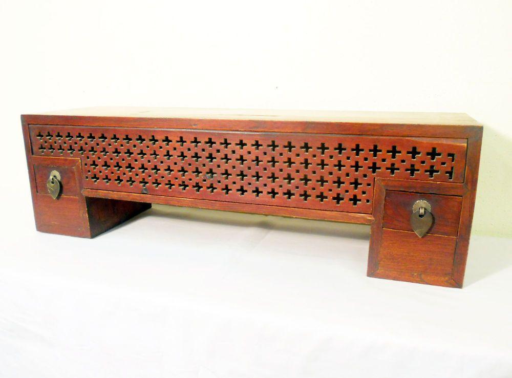 Antique Chinese Petit Ming Shelf (5374) , Circa 1800-1849