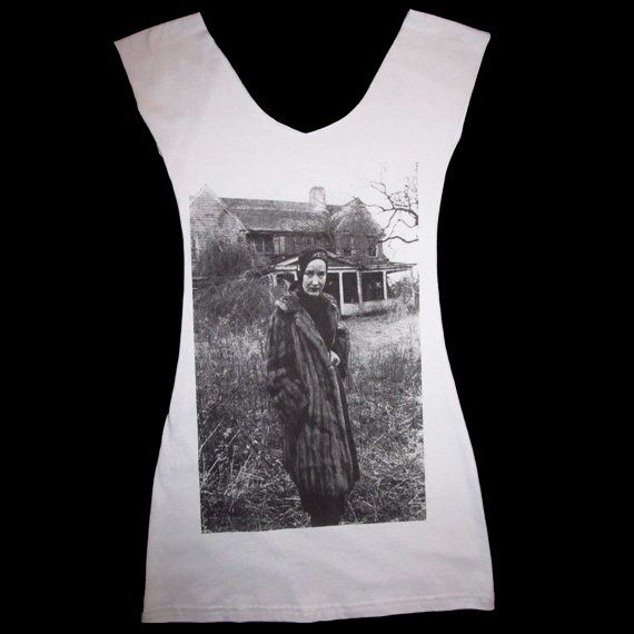 Stunning LITTLE EDIE at Grey Gardens Tank Top by SleazySeagull,