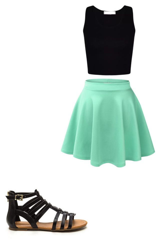 """""""Look #246"""" by annie-martin-a ❤ liked on Polyvore featuring LE3NO"""