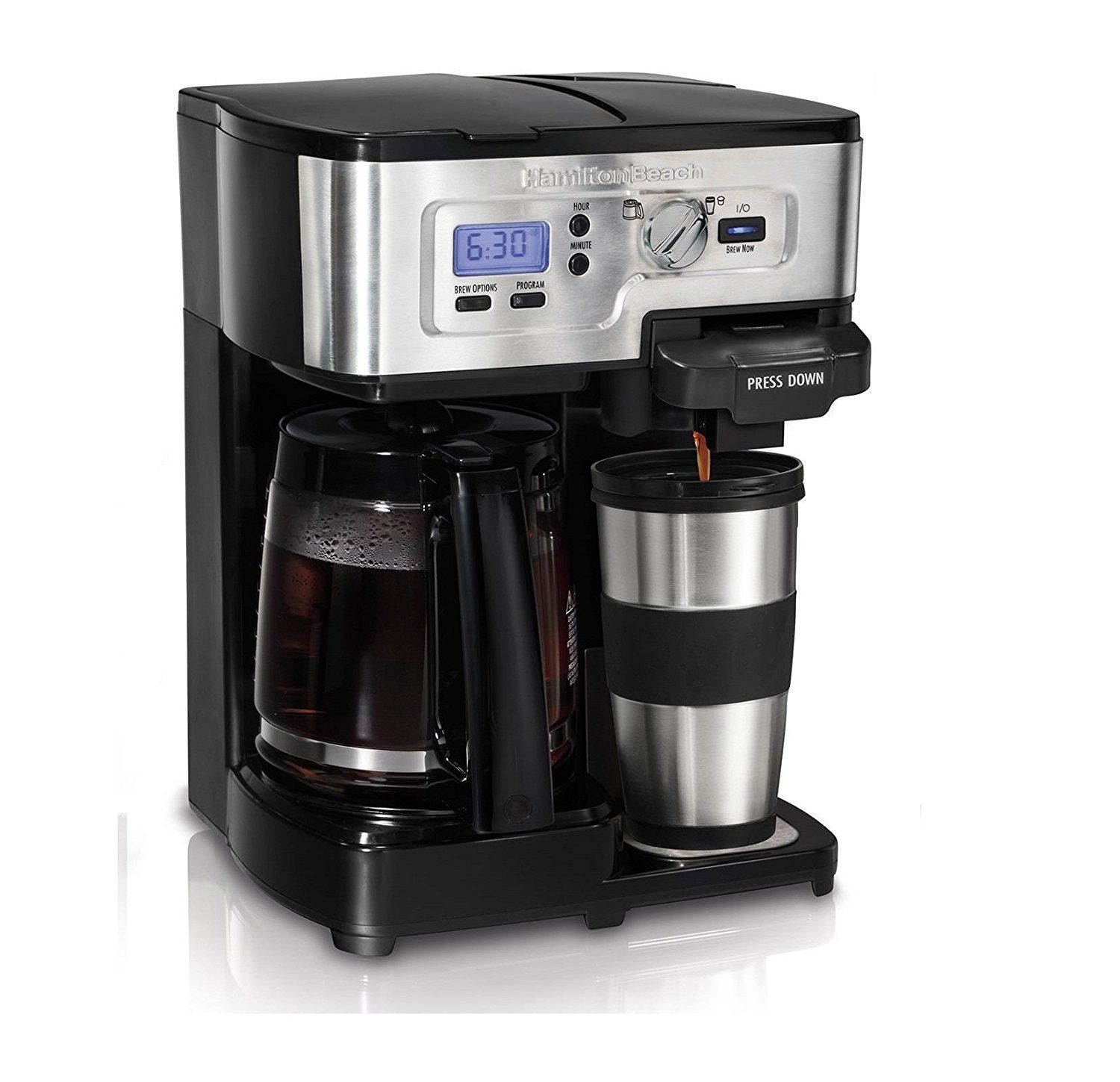 Hamilton Beach 2Way FlexBrew Digital 112 Cup Coffeemaker