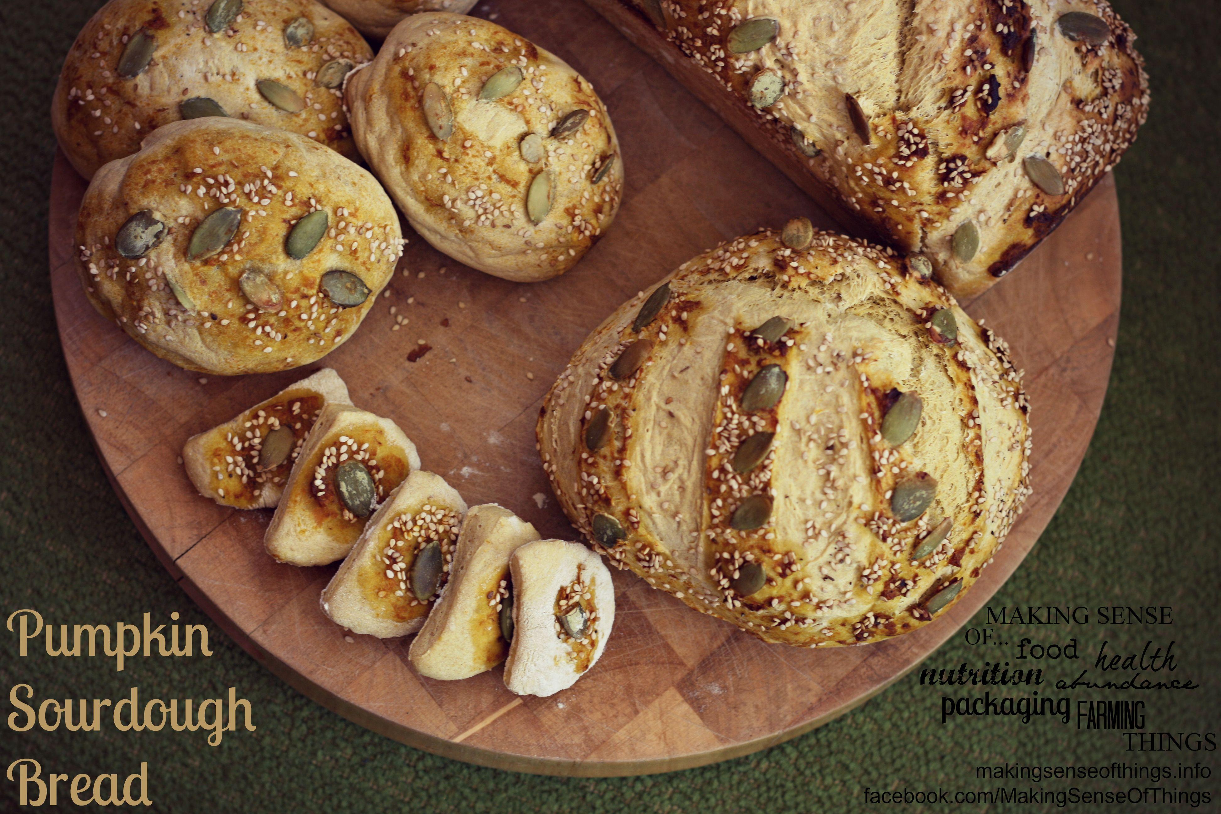 Pumpkin Sourdough Bread, recipe here: https://www.facebook.com/photo.php?fbid=589195237807822&set=a.405384189522262.97578.123763421017675&type=1&theater