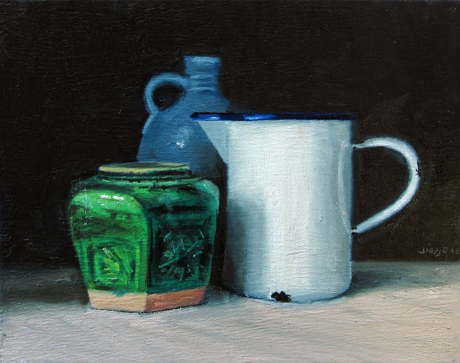Still life - oil on canvas - 30 x 24 cm
