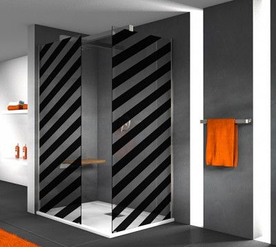 dekorfolie f r dusche m bel wohnen duschkabinen folien 318935 klebefolien f r duschkabine. Black Bedroom Furniture Sets. Home Design Ideas