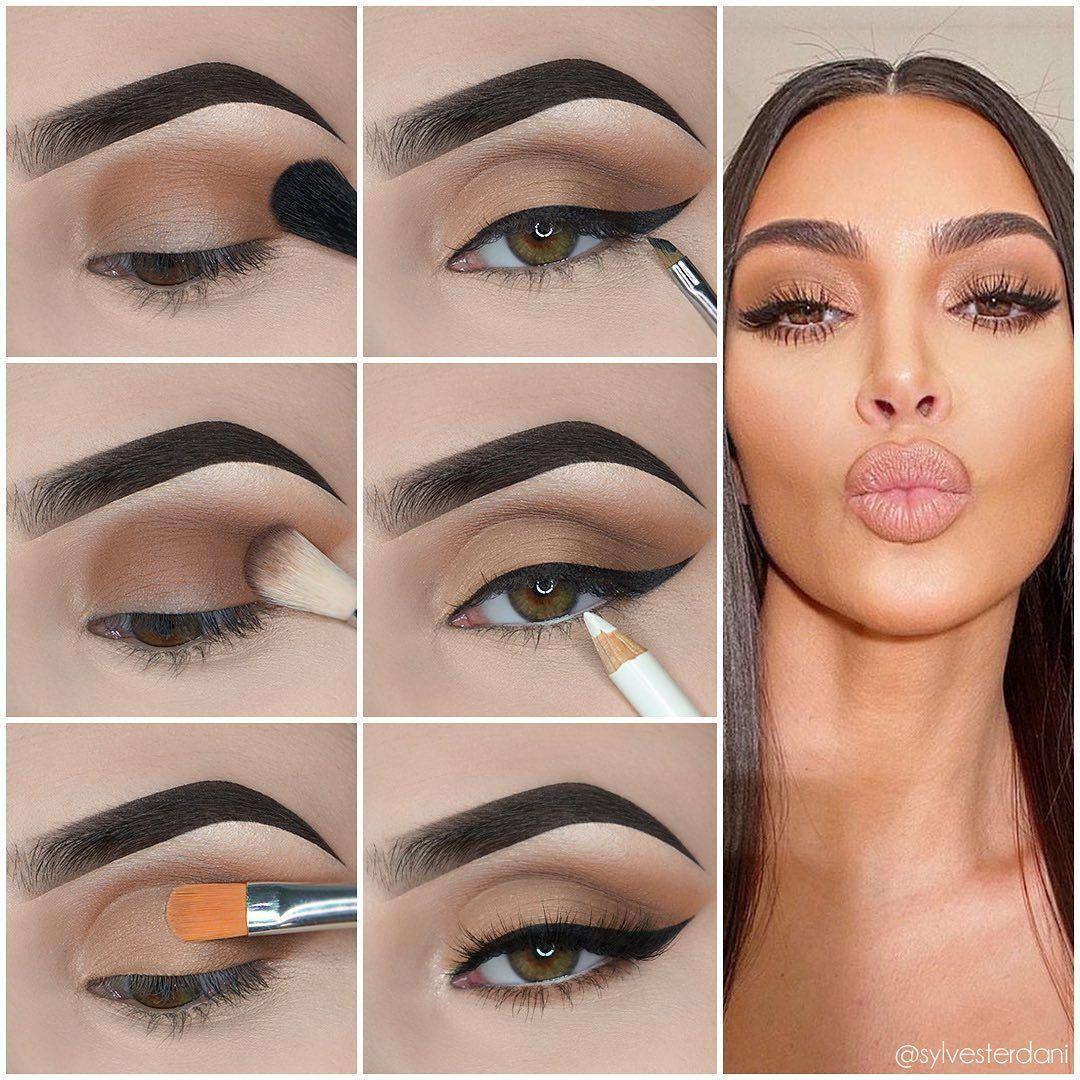 Pin em Makeup Tutorials Celebrities Recreations