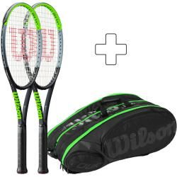 Photo of Wilson 2x Blade 98S V7.0 Plus Schlägertasche Wilson
