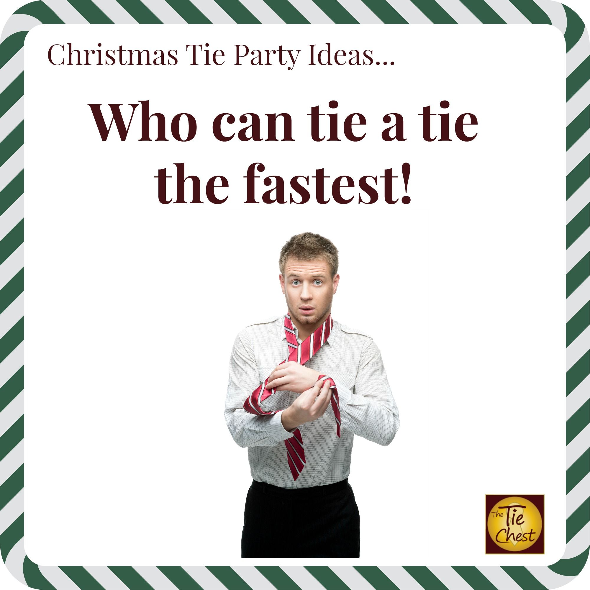 Fun contest idea for an Ugly Christmas Tie party! | Fun Christmas ...