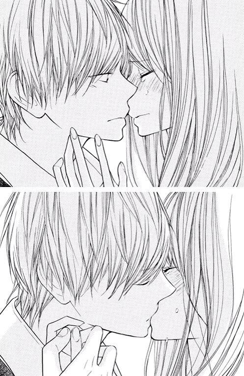 Cute anime couples i feel like i 39 ve read this manga before manga couple 2 manga manga - Dessin manga couple ...