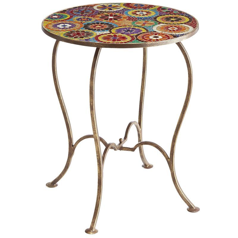 Elba Mosaic Accent Table Pier 1 Imports Mosaic Accent Table