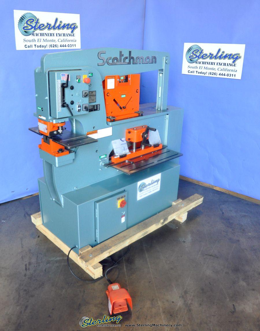 Scotchman 6509-24M Ironworker Operators Manual /& Parts