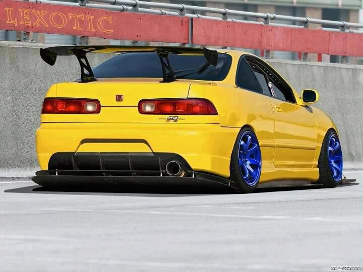 INTEGRA WITH A MEAN DIFFUISER