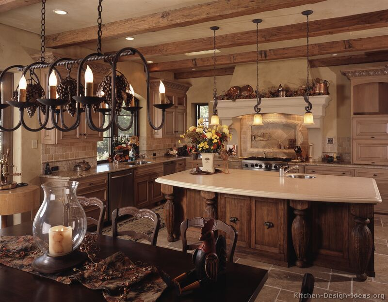 Rustic Country Design  Pic Of Luxury Country Rustic Kitchen Awesome Kitchen Design Gallery Ideas Inspiration