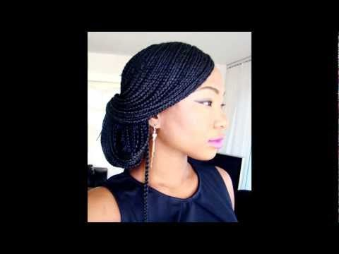 hair style easy best 25 box braids tutorial ideas on thick 1315