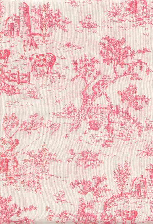 Toile King Bedding Pink Size Duvet Cover Under California Kids