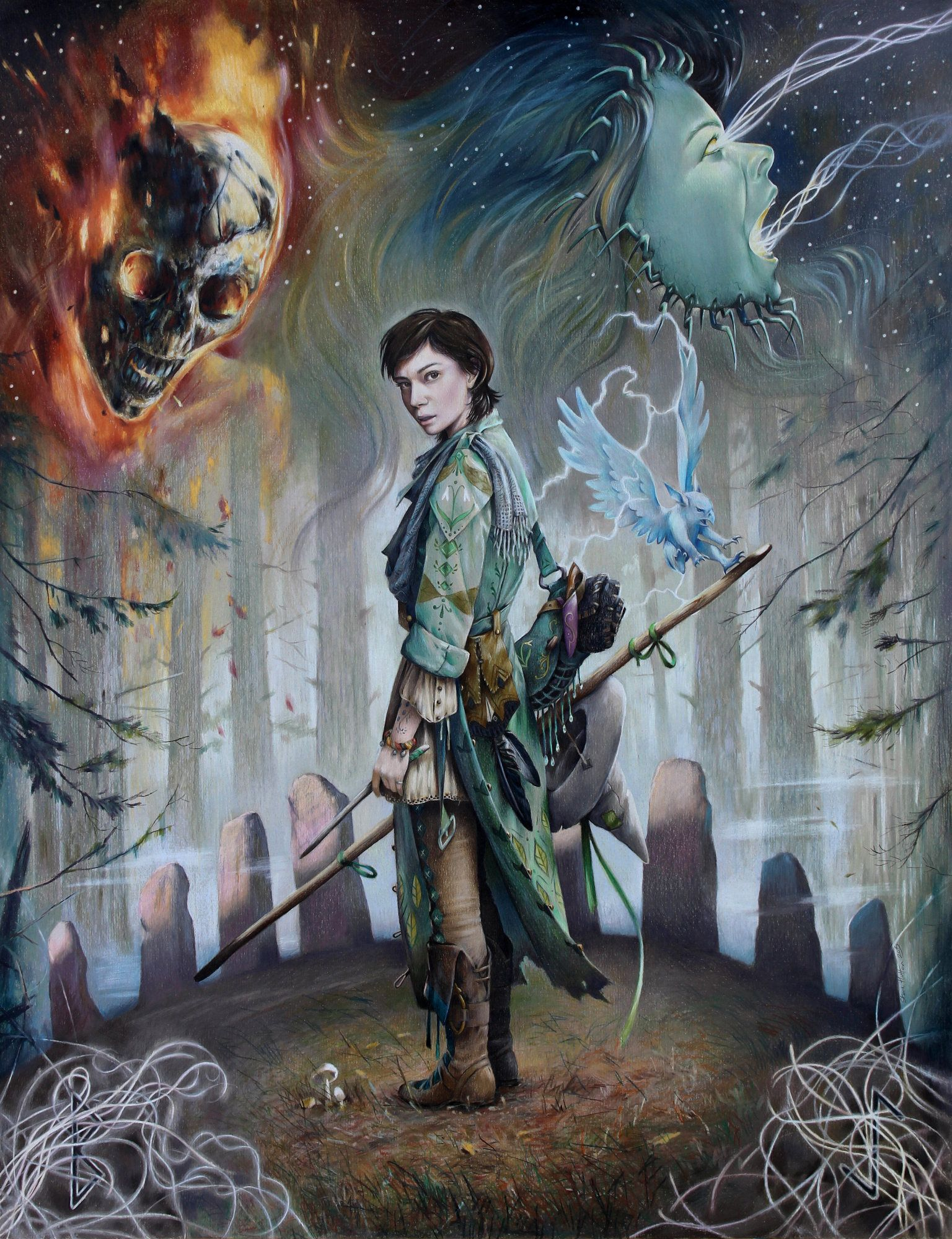 Destroying Angel artwork Witches in 2019