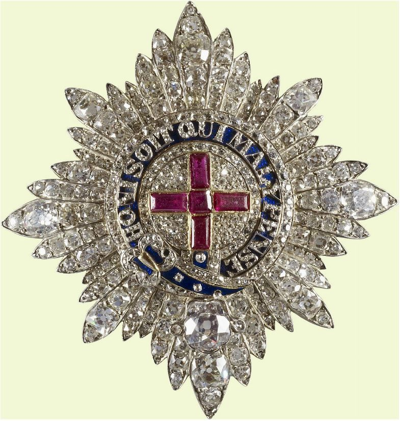 Royal Jewels of the World Message Board: Jewelled Garter Stars in