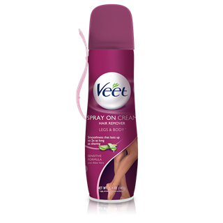 Veet Spray On Hair Removal Cream Sensitive Formula Hair Removal
