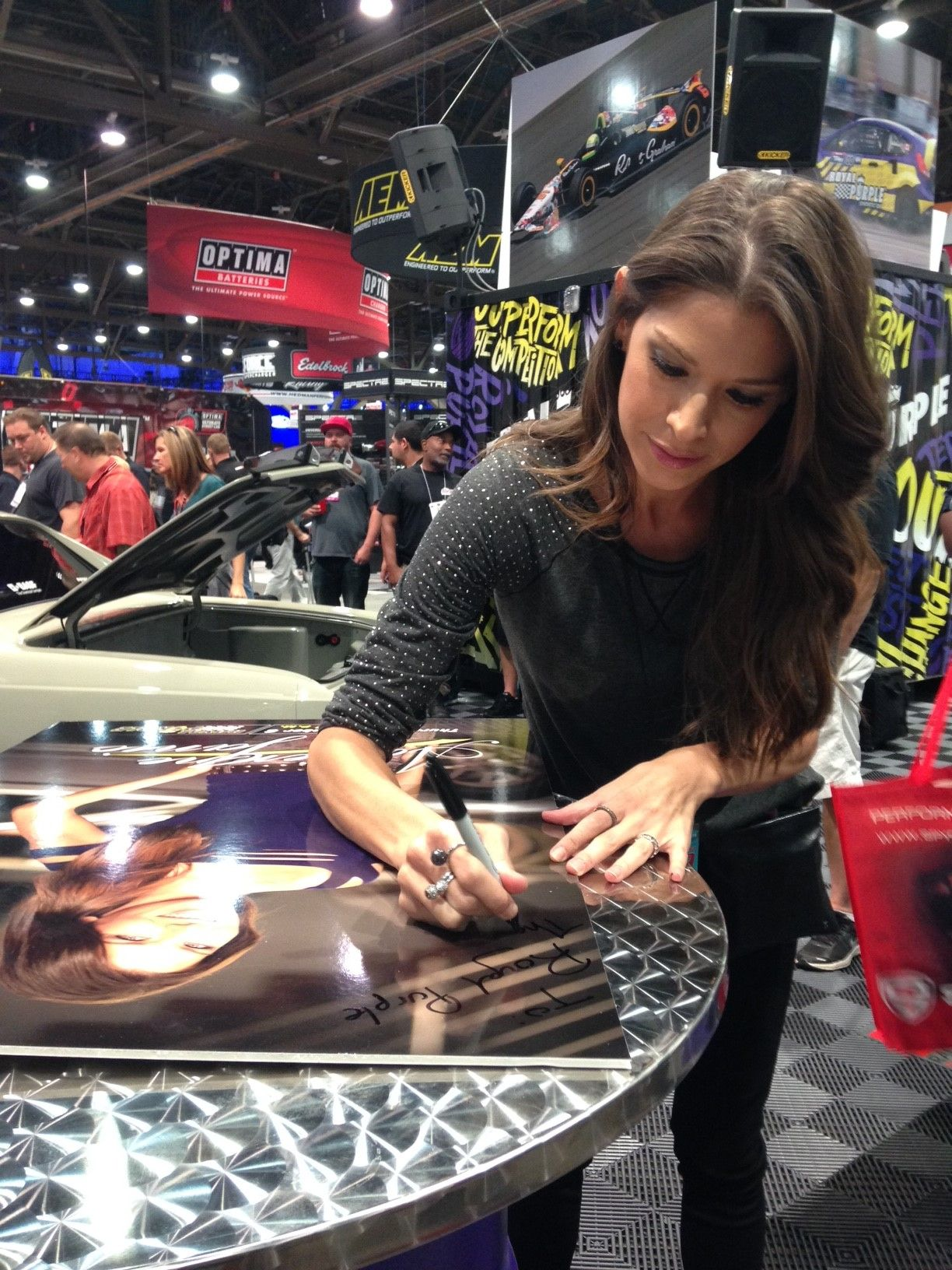 Adrienne Janic on Overhaulin, the Audi R8 and the Gas