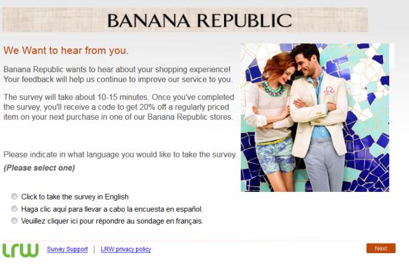 banana republic customer service