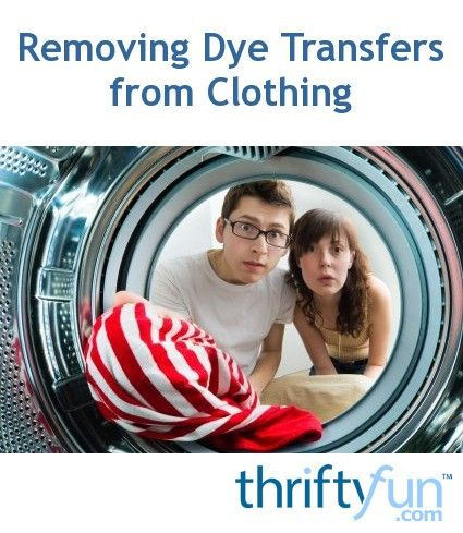 Removing Dye Transfers From Clothing Stain On Clothes Clothes