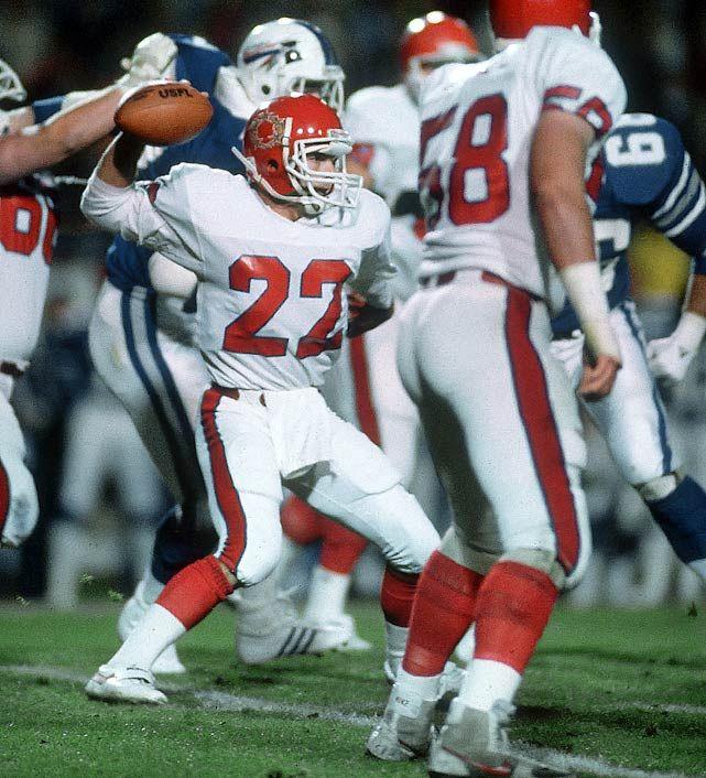 c9df70e42f5 Doug Flutie - New Jersey Generals | USFL | Football, Vintage ...