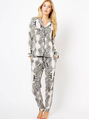 251bd9930509b Cute, Cozy PJs! | Seventeen Magazine – Best Room Ever! | Pajamas ...