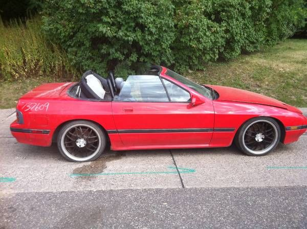 88 Mazda Rx7 $1,000 00 | I found this on ZillaCar com/719919