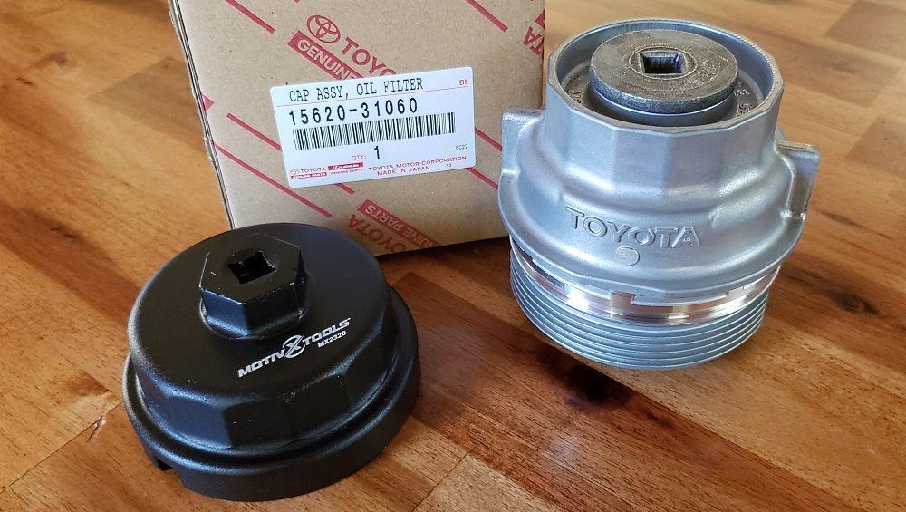 Metal Oil Filter Housing Upgrade Motivx Tools Oil Filter Wrench Oil Filter Filter Wrench Toyota
