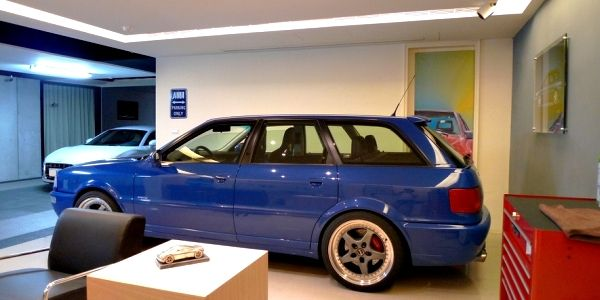 Garage Design Audi Fan Ingolstadt Pinterest Garage - Audi car garage