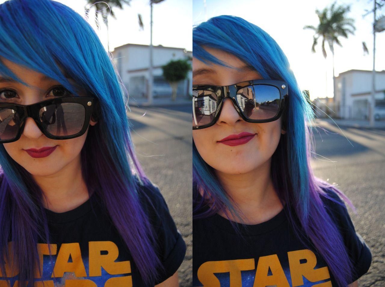 Photo hair pinterest blue hair