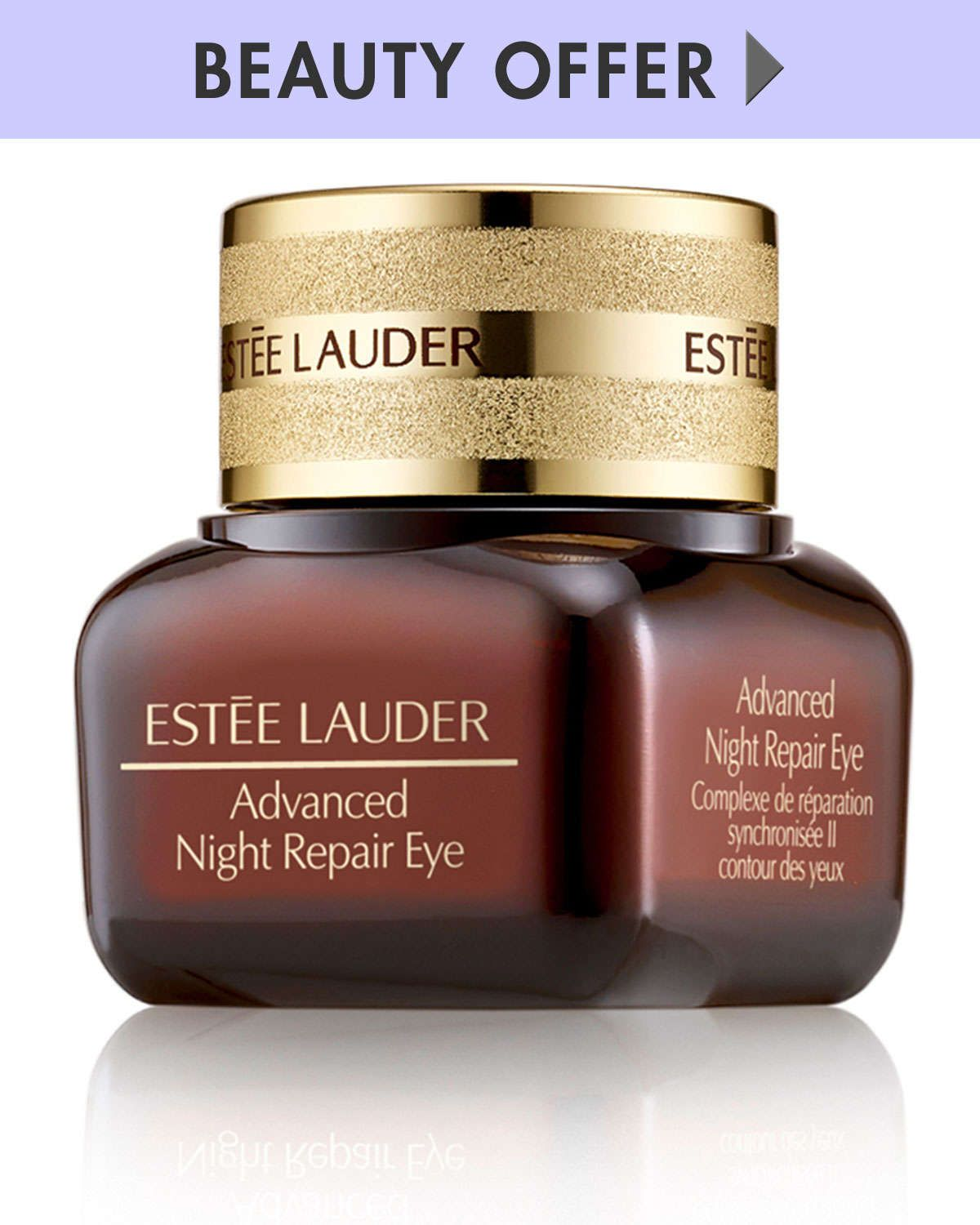 Yours with any purchase of a 1.7 oz. Advanced Night Repair