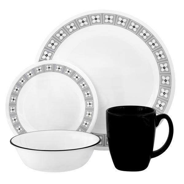 Dinnerware Collection for World Kitchen by Joanne Collins Design Group:  CORELLE® Livingware™ Floral Connection 16-pc Set   http://www.shopworldkitchen.com/corelle/floral-connection-set-1083287