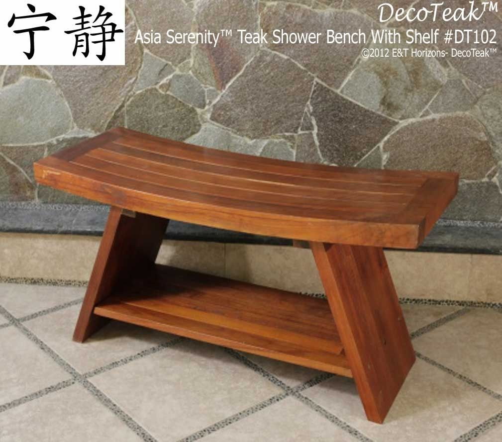 Find This Pin And More On Contemporary Bathroom Furniture By Decoteak Asia Teak Serenity Bench