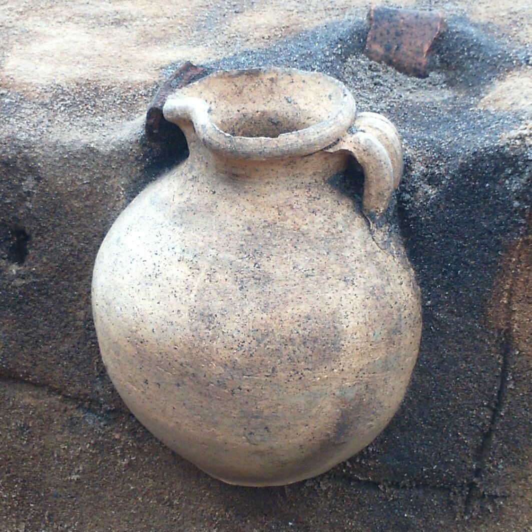 Blog Archive Merovingian Wine Jug Found In Denmark Cemetery Wine Jug Ancient Pottery Pottery
