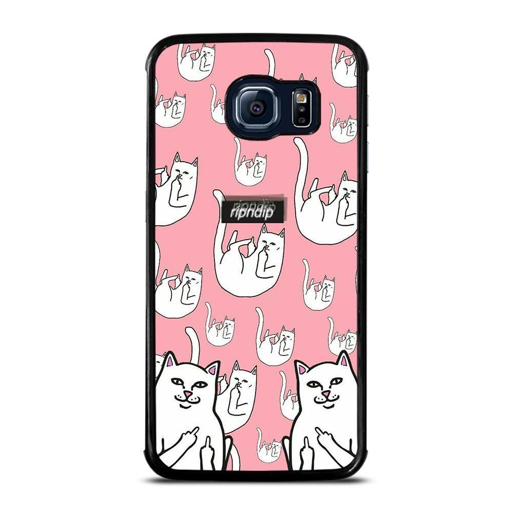 RIPNDIP COLLAGE Samsung Galaxy S6 Edge Case Cover Cat