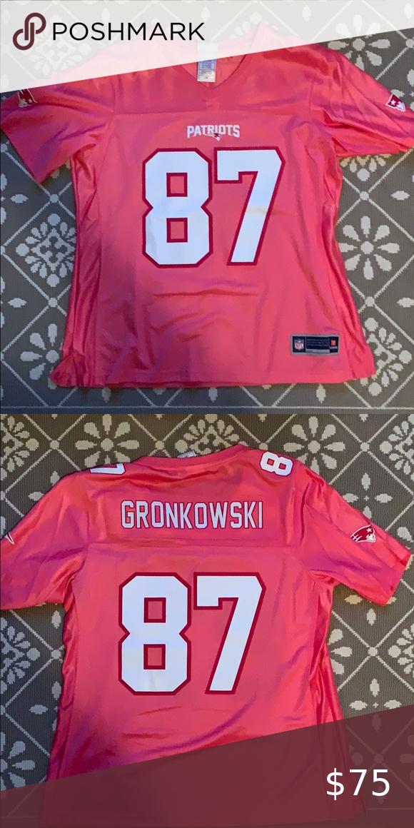 womens pink gronkowski jersey