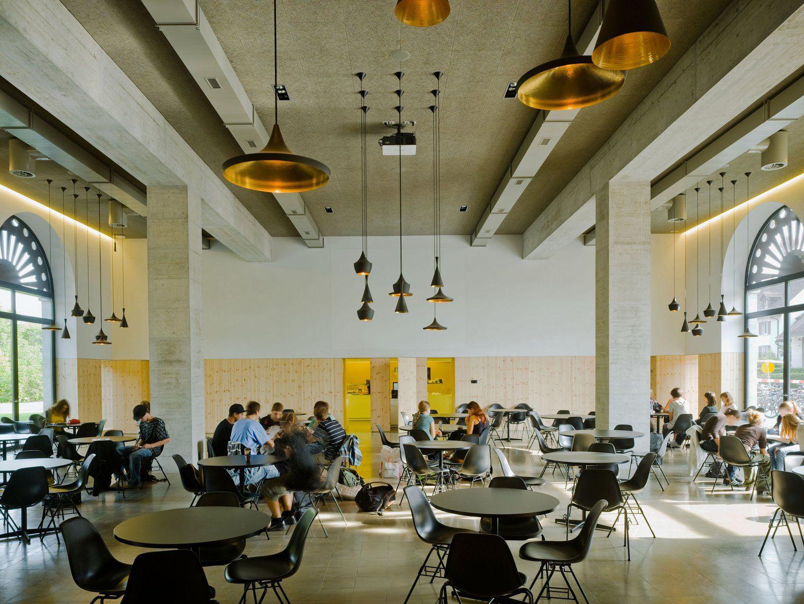 mlzd emw installation mensa kantonsschule inside | inspiration ... - Cafe Mit Buchladen Innendesign Bilder