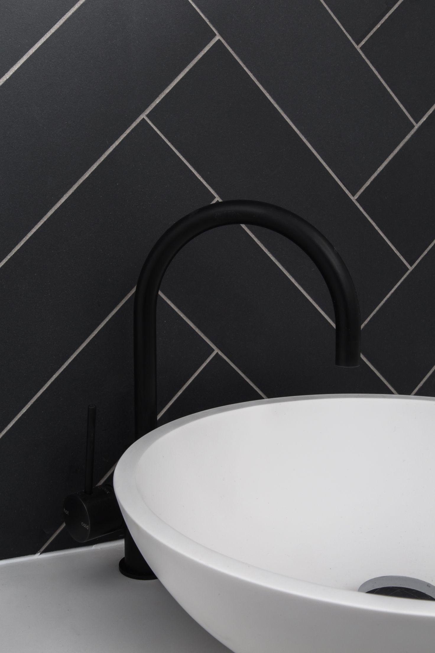 Matte black tapware | West Beach Residence | Adelaide Australia ...