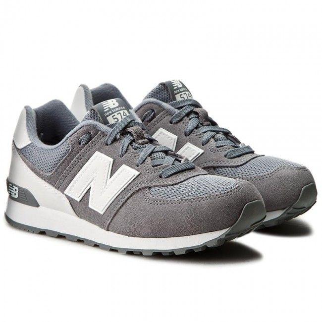 Sneakersy New Balance Kl574ckg Szary New Balance New Balance Sneaker Shoes