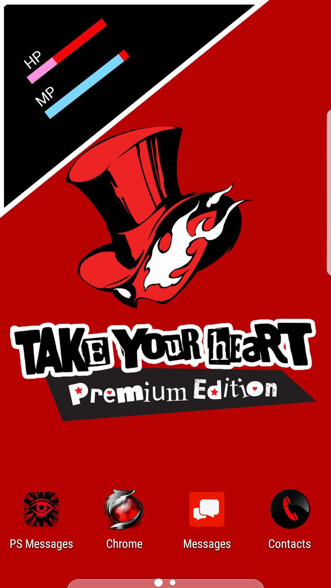 Persona 5 Take Your Heart Wallpaper In 2020 Heart Wallpaper