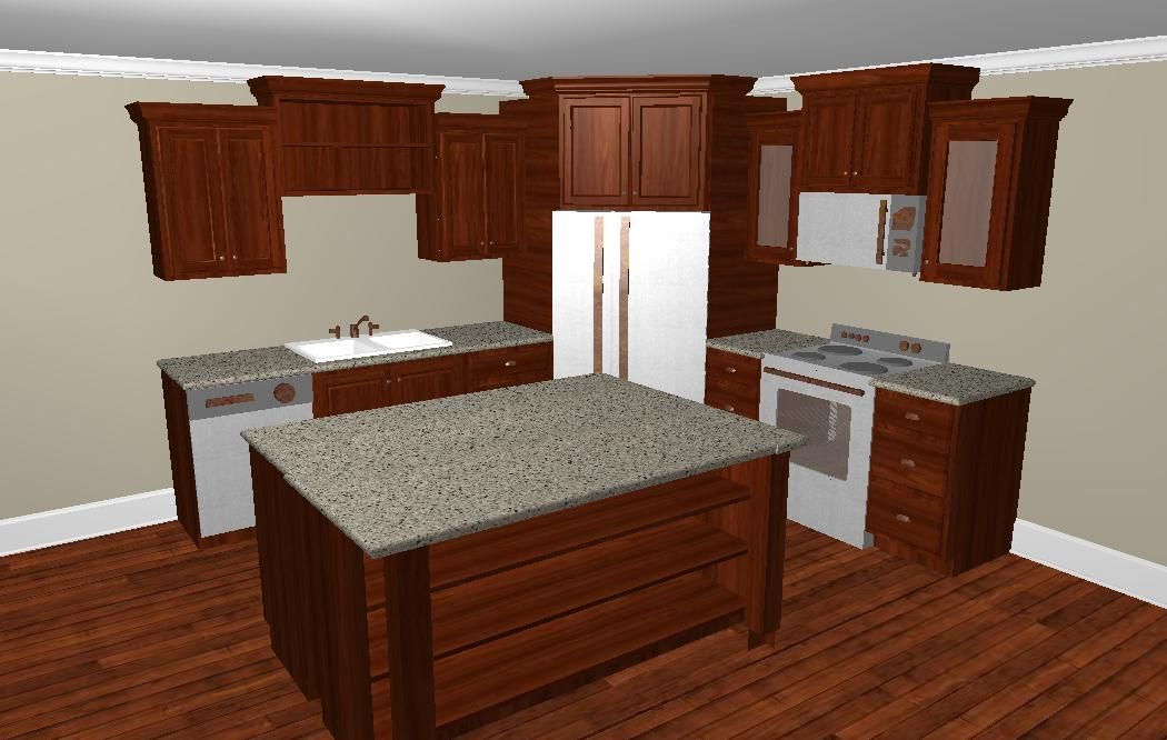 Whether To Place A Refrigerator In The Corner Kitchen Layout Refrigerator Cabinet Kitchen Corner