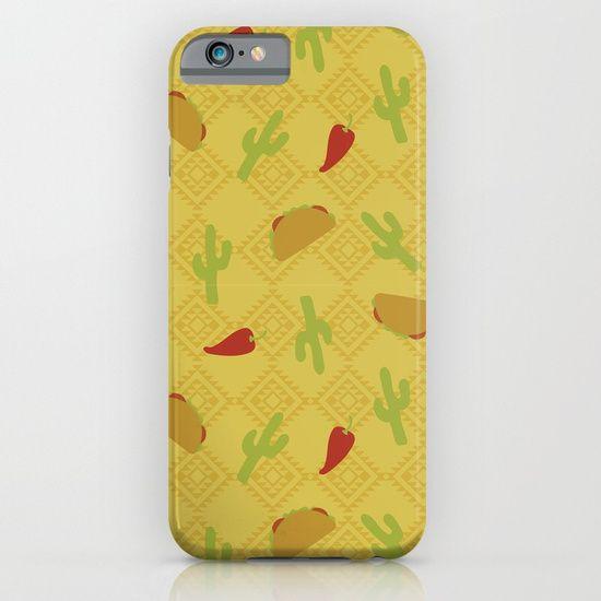 mexican, taco, jalapeno, cactus, summer, nature, desert, aztec, geometric, yellow, phone case, design, textile