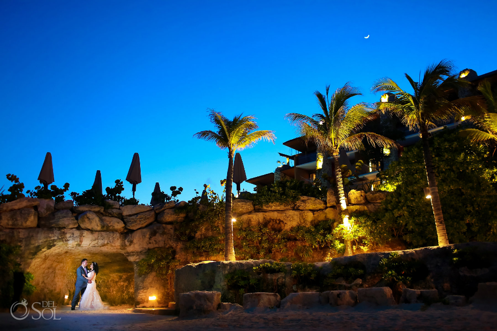 Hotel Xcaret Mexico Chapel Wedding J M Del Sol Photography Boda