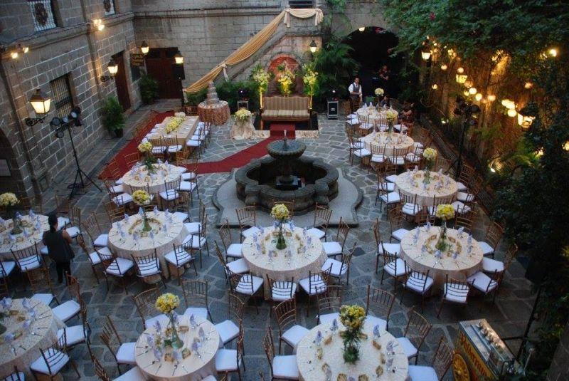 15 Most Romantic Wedding Venues In The Philippines Tripzillastays Romantic Wedding Venue Wedding Venues Patio Wedding